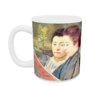 Women Reading by Mary Stevenson Cassatt   Mug   Standard