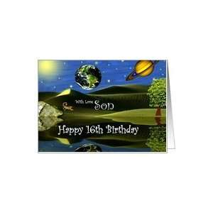 Birthday ~ Son / Age Specific 16th ~ Planet Taro Card: Toys & Games