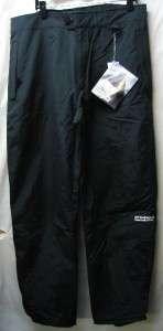 Precision Mountainwear Mens Snow Ski Pants Black XL NEW