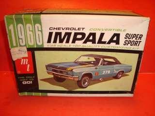 AMT 1966 Chevy Impala Model Car Parts |