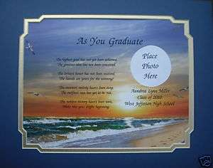 PERSONALIZED POEM HIGH SCHOOL / COLLEGE GRADUATION GIFT