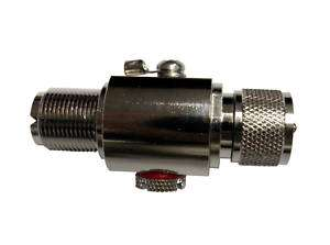 High Quality In Line Coaxial Lightning Arrestor UHF M/F