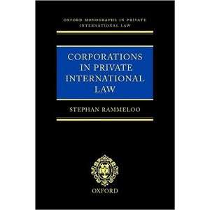 in Private International Law) (9780198299257) Stephan Rammeloo Books