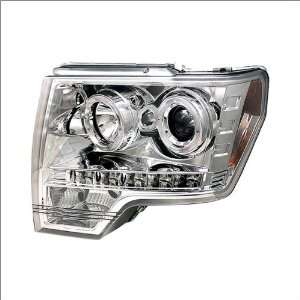 IPCW Chrome Projector Headlights W/ Rings 09 10 Ford F 150