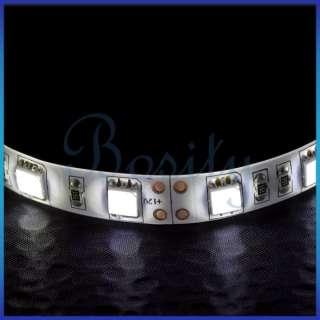 50cm 30 LED 5050 SMD Car Interior Décor LED Stripe White LED DC 12V