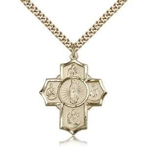 Genuine IceCarats Designer Jewelry Gift Gold Filled 5 Way Motherhood