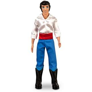 ERIC (Ariel Prince) : This handsomely detailed Eric fashion doll from