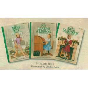 Kit, An American Girl 1934 3 book set in slipcase Set of 3 Books