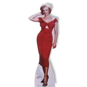 Marilyn Monroe Red Dress in Niagara Mini Standup Toys