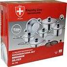 Royalty Line Switzerland Stainless Steel Cookware Set