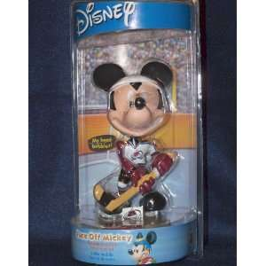 Disney NHL Mickey Mouse Colorado Avalanche Bobble Head Toys & Games
