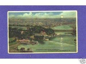 HTL 143 Koehler Hold to Light postcard, Philadelphia |