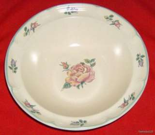 International China Stoneware Serving Bowl / Floral Des