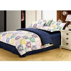 Bedding new cowboy style characteristic blue cotton is