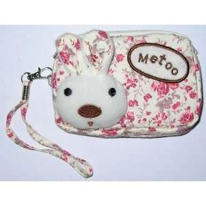 Metoo Cosmetic Makeup Bag Change Purse   Pink Beauty