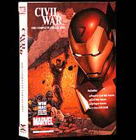 Marvel Civil War complete comic collection DVD ROM *New