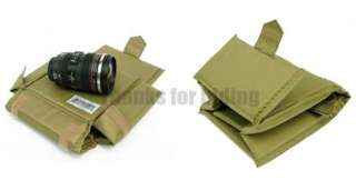 Fold Partition Inner Case Padded Bag Pouch for NIKON SONY CANON DSLR
