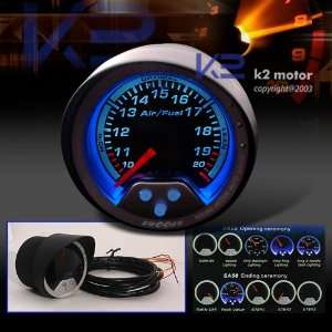 Swoosh Jdm 2 Led Air/fuel Ratio Gauge Meter Universal