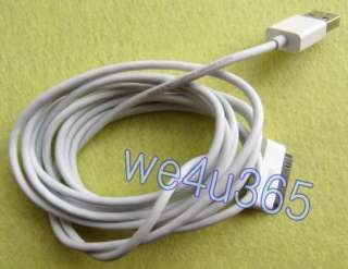 Meter USB Charger Data Cable for Iphone Ipod I pad