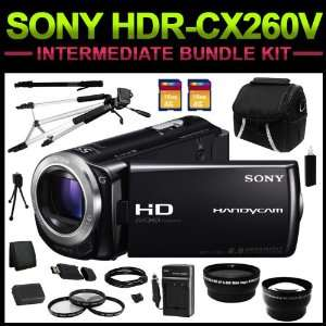 HDR CX260V High Definition Handycam Camcorder (Black) Intermediate