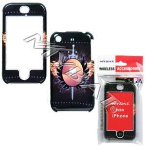 APPLE iPhone Phoenix Skull Phone Protector Cover