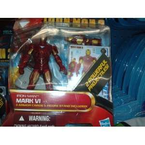 Iron Man Action Figure Stand and Cards