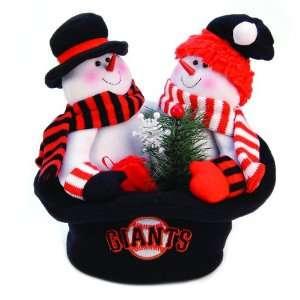 12 MLB San Francisco Giants Snowmen Top Hat Table