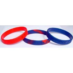 Major League Baseball Team Wrist Band Sets   Boston Red