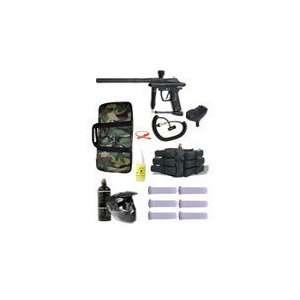 Azodin Kaos Semi Auto Paintball Gun Mega Package   Black