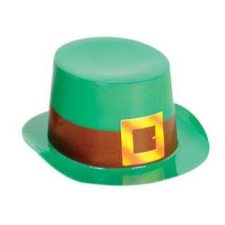 St Patricks Day Irish Party Leprechaun Card Top Hat