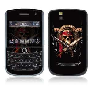 Jolly Roger Decorative Skin Cover Decal Sticker for Blackberry Tour