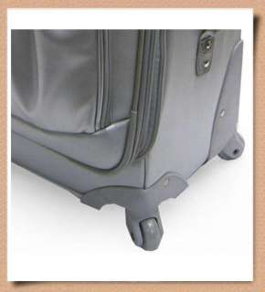 KATHY VAN ZEELAND Monte Carlo 24 Suitcase + 17 Satchel LUGGAGE SET w