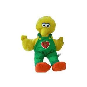 Sesame Street Big Bird Plush in Green Jumper   20in Toys & Games
