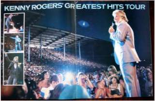 KENNY ROGERS ~ 1981~ LIVE IN CONCERT Tour Program Book
