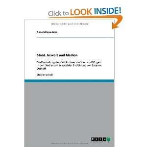 und Medien (German Edition) (9783640520916) Anna Milena Jurca Books