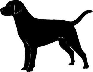 Labrador Dog Vinyl Decal Car Truck Window Sticker