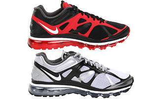 Mens Air Max+ 2012 Black or Grey Sneakers Running Shoes Kicks Trainers