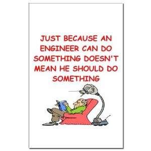 joke Geek Mini Poster Print by CafePress: Patio, Lawn & Garden