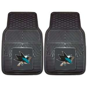 Custom Made   10673   San Jose Sharks 2 pc Heavy Duty Vinyl Car Mat