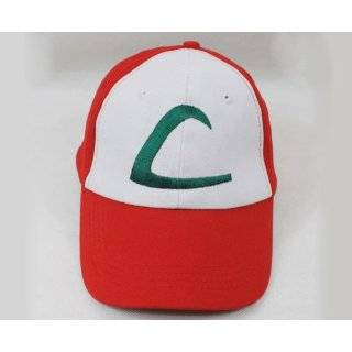 Nintendo Pokemon Ash Ketchum Cap Embroidered Hat One Size A