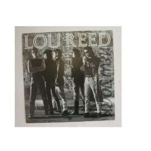Lou Reed Poster The Velvet Underground New York