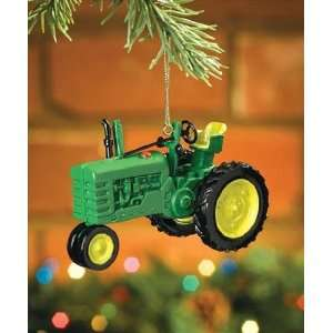 Model B, John Deere Tractor Christmas Tree Ornament