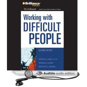 Working with Difficult People (Audible Audio Edition
