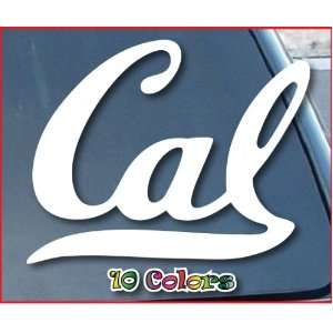 UC Berkely Bears CAL Car Window Vinyl Decal Sticker 9 Wide (Color