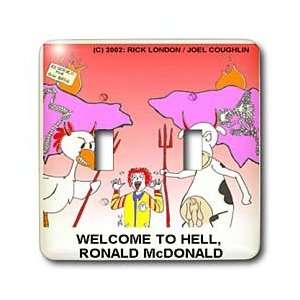 Times Religion Heaven Hell Cartoons   Ronald McDonald Goes To Hell