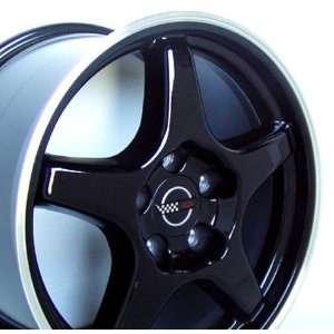 Chevy Camaro ZR Style Wheel Black Wheels Rims 1988 1989 1990 1991 1992
