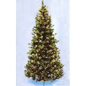Pine Pre Lit Artificial Christmas Tree   Clear Lights