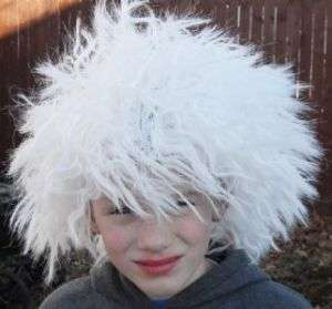 Mad Scientist White Wig Einstein Child/Adult Costume