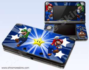Nintendo 3DS Skin Vinyl Decal   Super Mario Bros