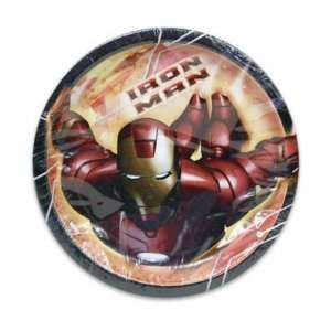 Plate 8 Count Iron Man Case Pack 108 by Iron Man